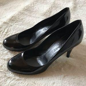 Burberry | Black Patent Leather Nova Check Pump